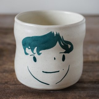 Brut Cake Handmade pottery - smiling mug (not to) 260ml-26