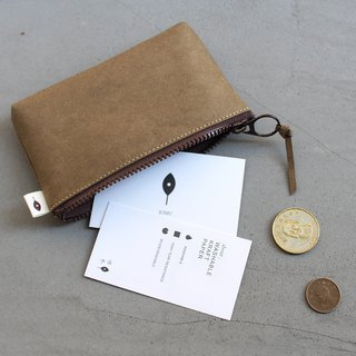 Take advantage of the coin purse / can be placed in a folded banknote / with a mezzanine