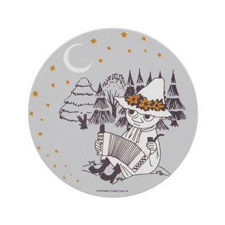 Moomin Moomin authorization - water coaster: [A Midsummer Night (gray)] (round / square)