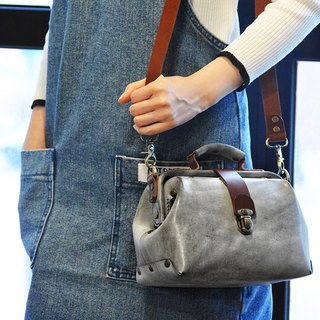 Fading Mist Leather Mini Doctor Bag - Tailor-made Color Choice!