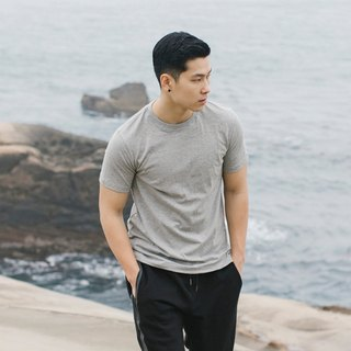 hao Gray Cotton Shirts