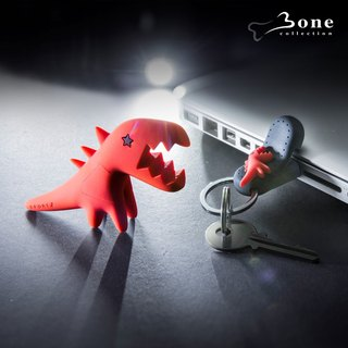 Bone / Sport b. Dinosaur Flash Drive Set - Red