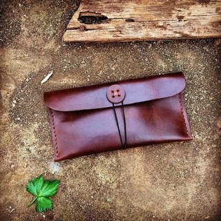 Money Wallet (color dark brown)