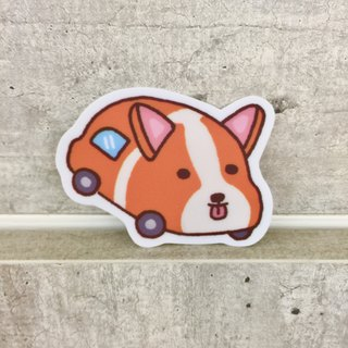 """Art of fish"" Koji car small waterproof stickers -SS0083"