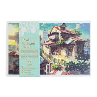 Fantascene Postcard Set By FeiGiap :Vol.2 (set of 8)