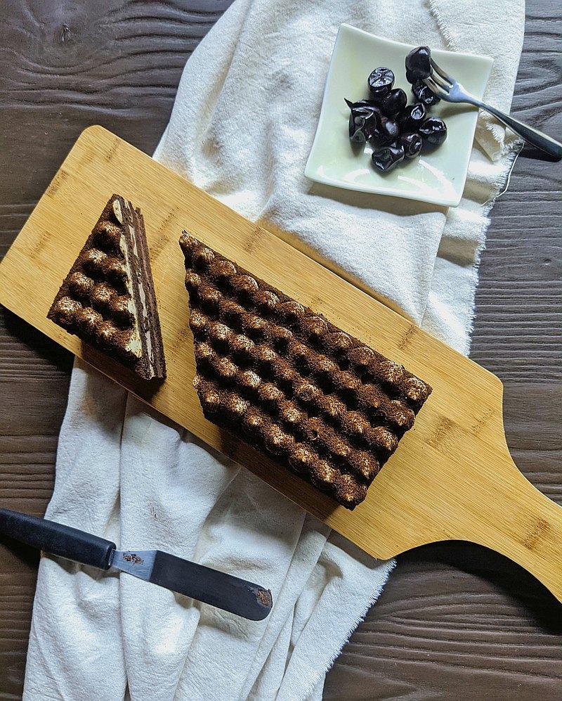 酒釀樹葡萄巧克力蛋糕