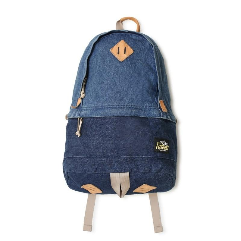Filter017 Freely Daypack - Washed Denim 水洗單寧後背包
