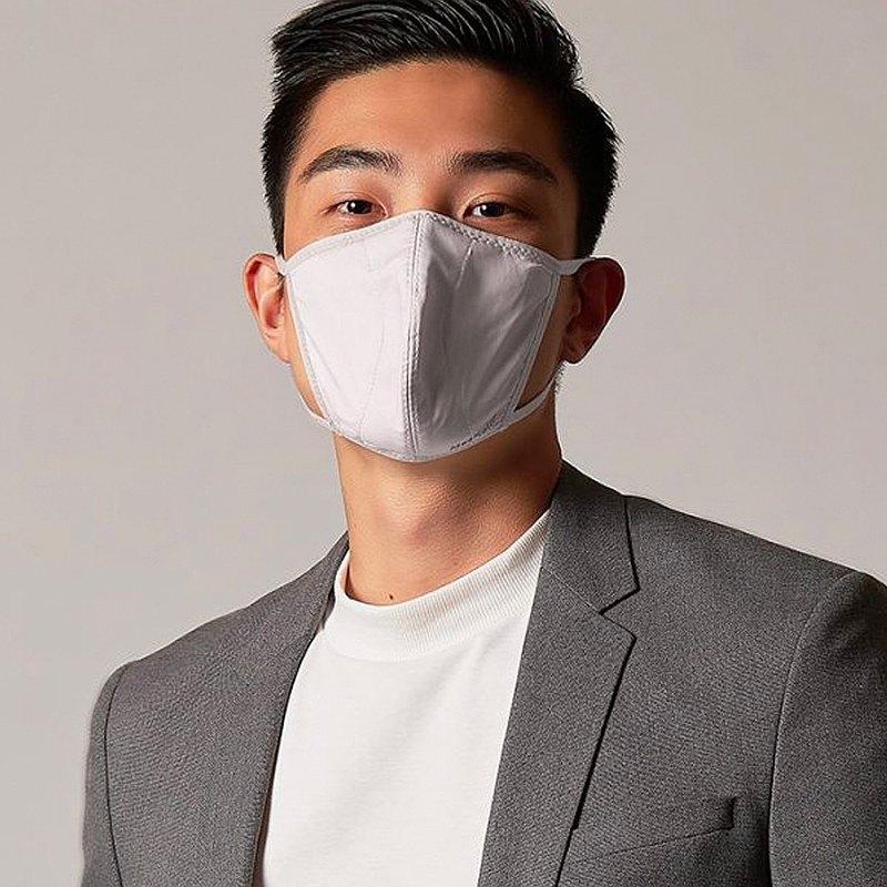 香港 MasKolor PRO   Foggy 雾霾灰 抗菌口罩 可重复水洗30次