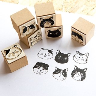 Cat Party - OURS DIY Stamp Set - by Koopa