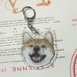 Shiba Inu - Acrylic Charm (Key Ring) Double Layer