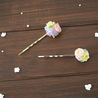 =Flower Piping= Customize Bouquet Hair Pin