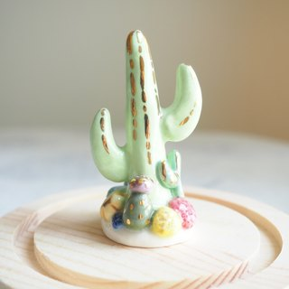 The Baby Cactus Ring Holder