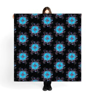 "Large Soft  Scarf / Sarong""Flora"" Limited Edition 250pieces"