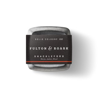 SHACKLEFORD Top Male Cologne - Fulton & Roark