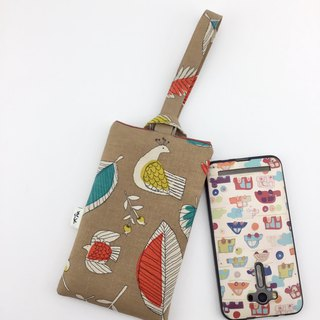 Flower bird - mobile phone case - easy to use and super protection