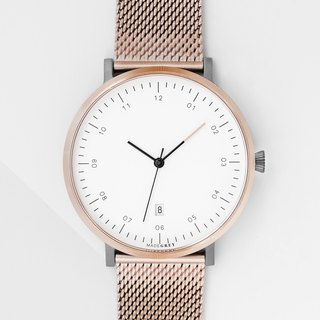 NEW! ROSE GOLD x GREY MG001 Watch