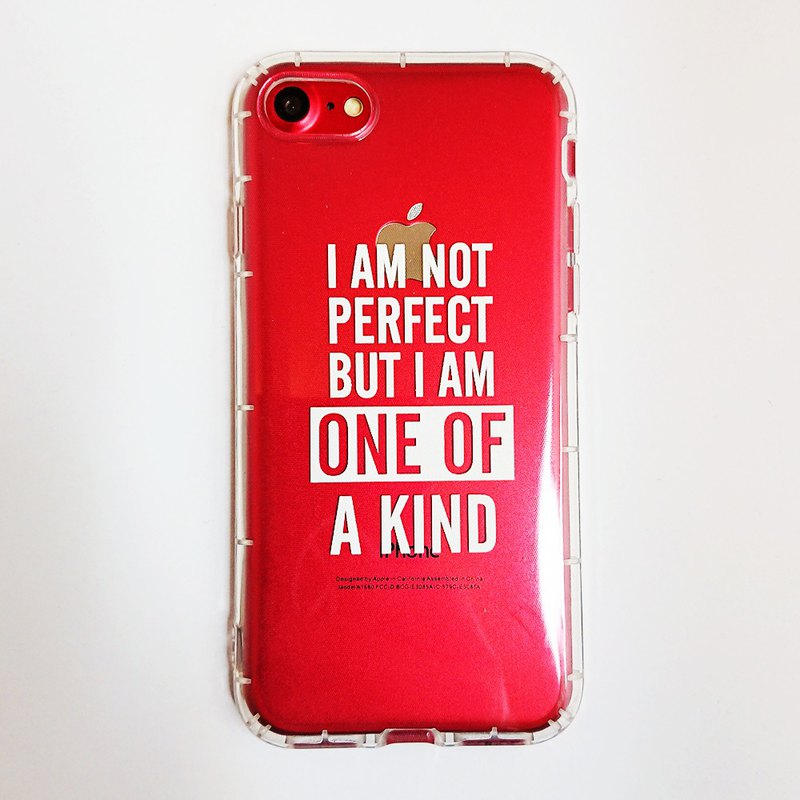 SO GEEK mobile phone case design brand THE MOTTO GEEK ONE OF A KIND (transparent)