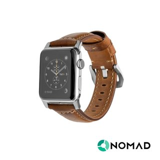 US NOMADxHORWEEN leather (Apple Watch strap) - Classic silver (42mm) (856504004675)