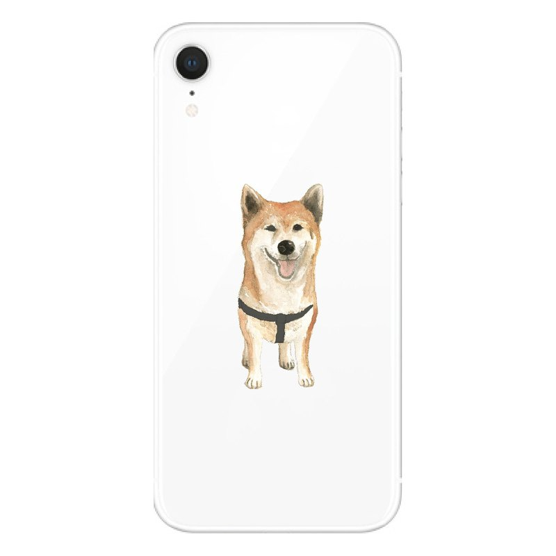 Shiba Inu - Mobile Shell | TPU Phone case Anti-fall Air Compressor | Addable Word Design
