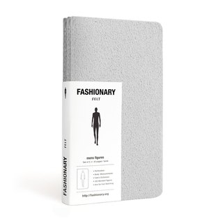 The hand-painted FASHIONARY / M Version / A6 / 3-Pack / poi felt