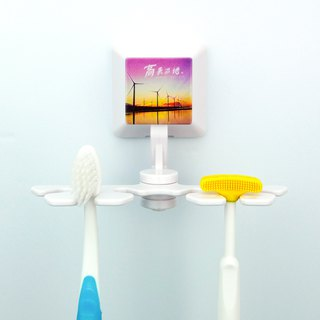 Microphase Art*Smile*Toothbrush Holder