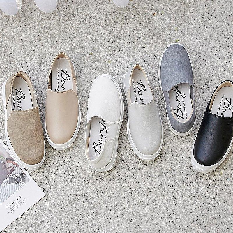 現貨 輕盈無感+3.5cm超軟Q厚底懶人鞋