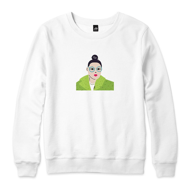 Artist Glasses Woman-White-Unisex Version University T
