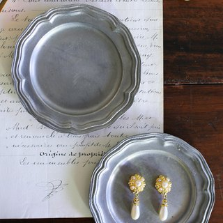 European tinted flower tray / single / tray tin plate