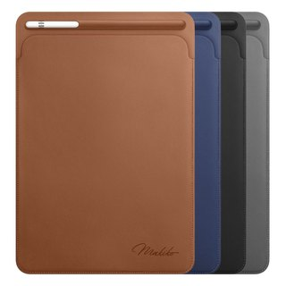 iPad pro custom name leather / a total of four colors / four English fonts optional 10.5 inch / 12.9 inch with Apple pencil pen slot