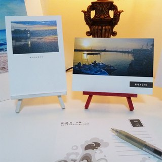 Custom postcard combination (single box 10) + small easel (1 group)