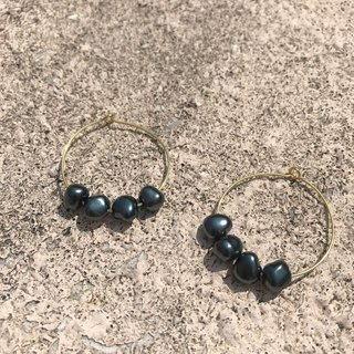 DIY Big Hoop earrings