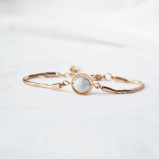 moon bracelet rose gold