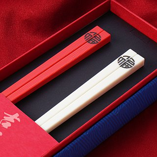 Taiwan's first chopsticks. Little single chopsticks set. Large chopsticks group
