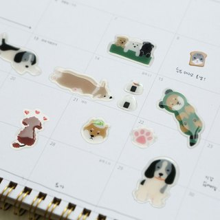 Three-dimensional sticker-01 dog, E2D13127