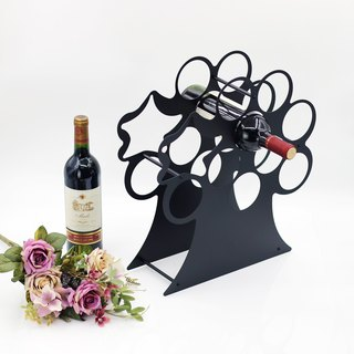 Sarkozy [OPUS East metalworking] Continental Iron wine bottle display / wine holder decoration / wine cooler Decoration (apple wine rack WR021)