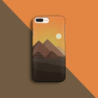 Pyramid - Orange Phone case