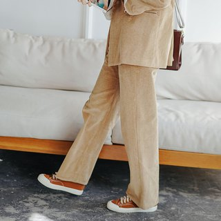 Bubble corduroy pants