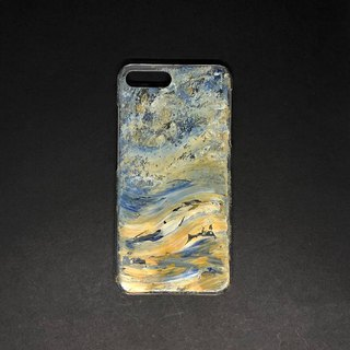 Acrylic Hand Paint Phone Case | iPhone 7/8+ | Atlas of Adventures