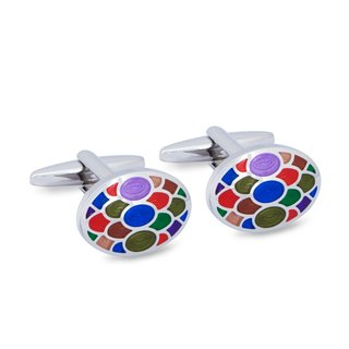 Colourful Pop Cufflinks