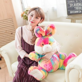 "CANDY BEAR 25"" Rainbow Rabbit"