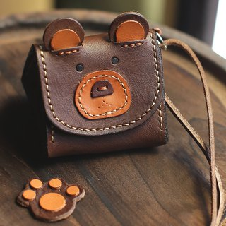 Imperial rice ball bear animal three-dimensional purse