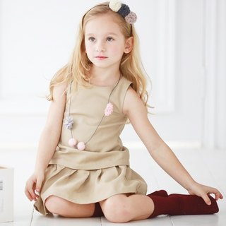 Elegant sleeveless dress (infant/toddler/girl)
