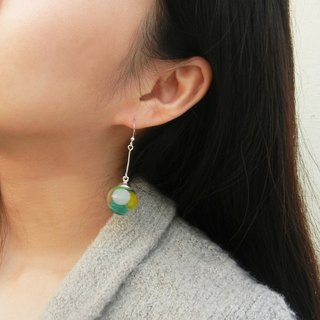 *coucoubird*Four-color jelly earrings
