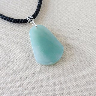 [Wish wish nothing card] floating flower jade silk wax necklace [eight shares] *** Lucky