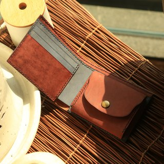 hykcwyre Handstitched Leather Wallet, Mix and Match, included photo slot