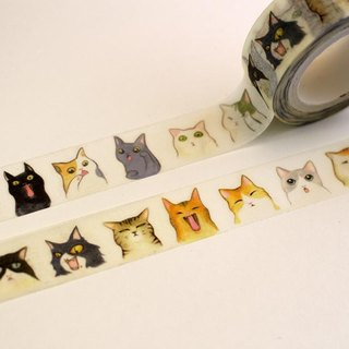 Cat's afternoon paper tape
