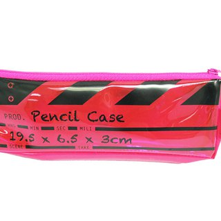 Director Clap Pencil Case - Pink