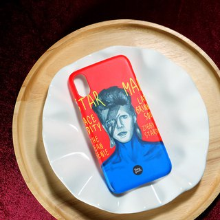 iPhone Case Cover 5 se 6 s 7 8 plus 10 x i6 i7 i8 ix S8 S9 Note8 P10 Sony Bowie