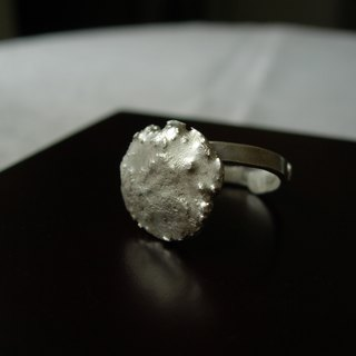 Movable Sterling Silver Ring - Natural