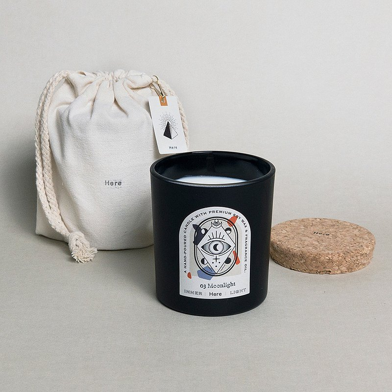 INNER LIGHT Scented Candle-No3. Moonlight Pomegranate